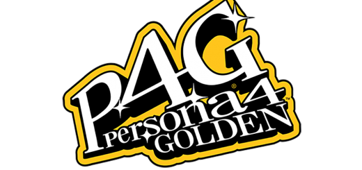 The Logo for Persona 4 Golden