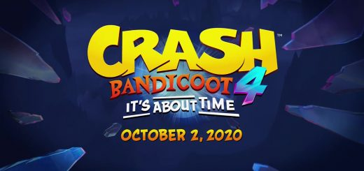 Crash Bandicoot 4: It's About Time Title