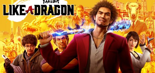 Yakuza Like a Dragon Key Image for the new game.